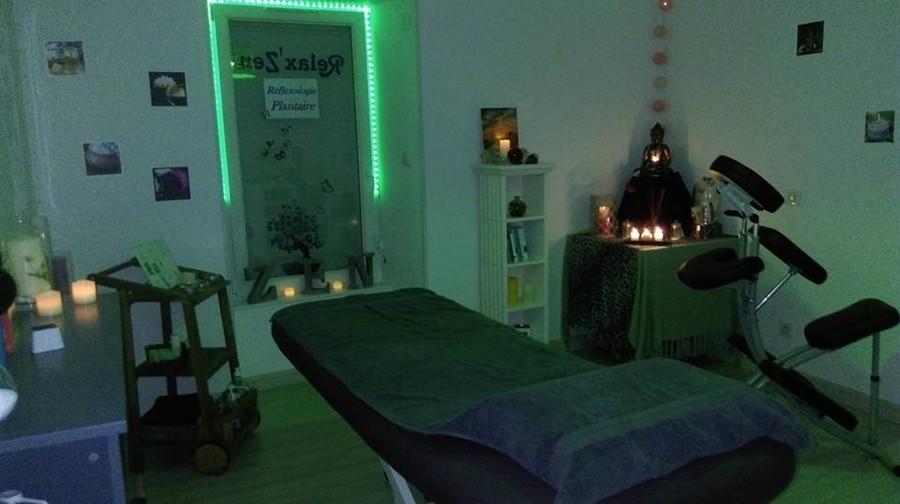 Salle de Massage, tamisée haut en couleur, selon la demande